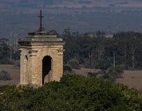 教会尖顶巴瑟斯特 库存照片