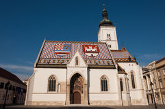 教会市场 免版税库存照片