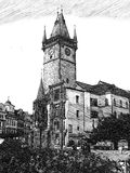 教会布拉格 免版税库存图片