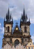 教会布拉格tyn 免版税库存照片