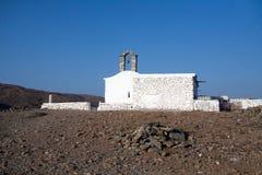 教会希腊小 库存图片