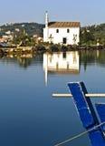 教会希腊老正统海运 免版税库存图片