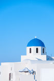 教会希腊 免版税库存照片