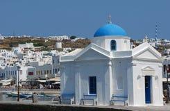 教会希腊 图库摄影