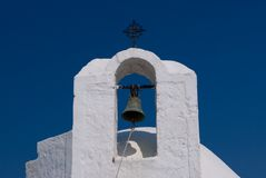 教会希腊 库存图片