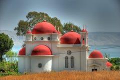 教会希腊ortodox 库存照片