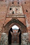教会废墟 库存图片
