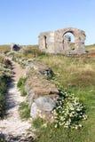 教会废墟 图库摄影
