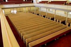 教会座位 库存照片