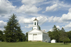 教会康涅狄格 免版税库存图片