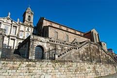 教会弗朗西斯・波尔图圣徒 葡萄牙 免版税库存图片