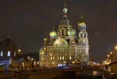 教会彼得斯堡st 免版税库存图片
