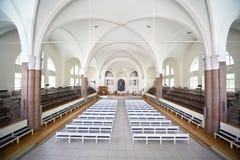 教会德国内部peters圣徒 免版税库存照片