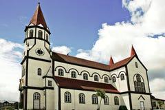 教会德国有历史的样式 免版税库存图片