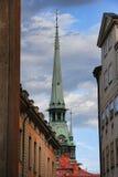 教会德国kyrkan斯德哥尔摩瑞典tyska 库存图片
