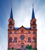 教会德国pfalz 免版税库存照片