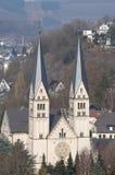 教会德国siegen 库存照片