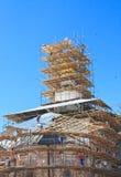 教会恢复 2007第23个耶路撒冷6月修道院新的俄国 Istra 假定大教堂dmitrov克里姆林宫莫斯科明信片区域俄国冬天 免版税库存照片