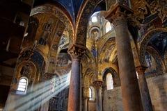 教会意大利la martorana西西里岛 免版税图库摄影