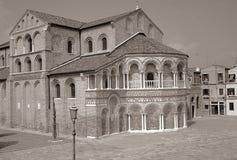 教会意大利murano 免版税库存图片