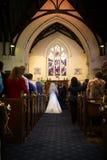 教会我婚礼 免版税库存图片