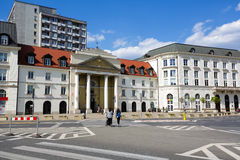 教会教区创造性的环境在华沙 免版税库存照片