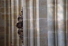 教会教堂中殿 库存照片