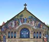 教会斯坦福大学 免版税库存照片
