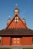 教会日志乌克兰语 免版税库存图片