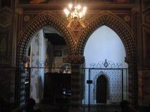 教会曲拱 库存照片