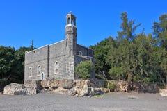 教会最旧的石墙 免版税图库摄影