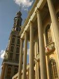 教会最高的波兰塔 免版税库存图片