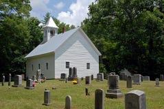 教会有历史木 免版税库存照片