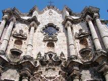 教会有历史的古巴 库存照片