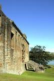 教会有历史的宫殿 免版税图库摄影