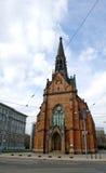 教会有历史的布拉格 库存照片