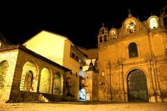 教会有历史的秘鲁 库存图片
