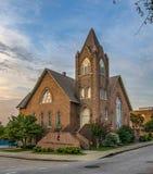 教会有历史老 免版税库存照片