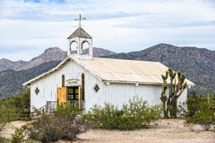 教会有历史老 免版税图库摄影