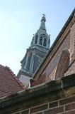 教会有历史都市 免版税库存照片