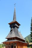 教会木的罗马尼亚 免版税库存照片