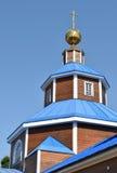 教会木老的斯德哥尔摩 免版税库存图片