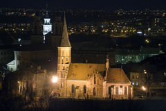 教会极大的vytautas 库存图片