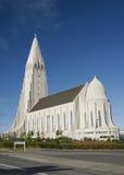 教会欧洲冰岛雷克雅未克 库存图片
