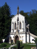 教会欧洲小 免版税库存照片