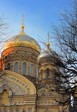 教会正统俄语 免版税库存照片