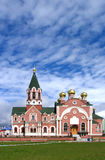 教会正统俄语 图库摄影