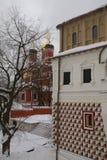 教会正统的莫斯科 免版税库存图片