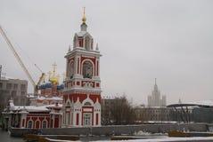 教会正统的莫斯科 免版税库存照片