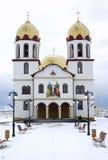 教会正统罗马尼亚语 库存照片